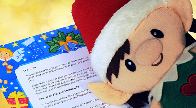 Chrismas Elf Letter of Introduction From Santa