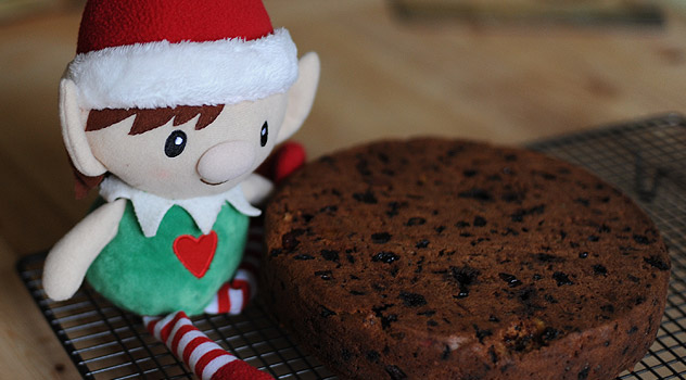 Elf with Christmas Cake Recipe