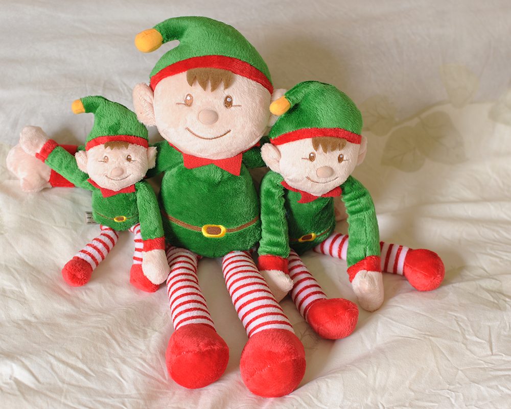 Elves sat on bed