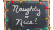 2015 Naughty or Nice Blackboard