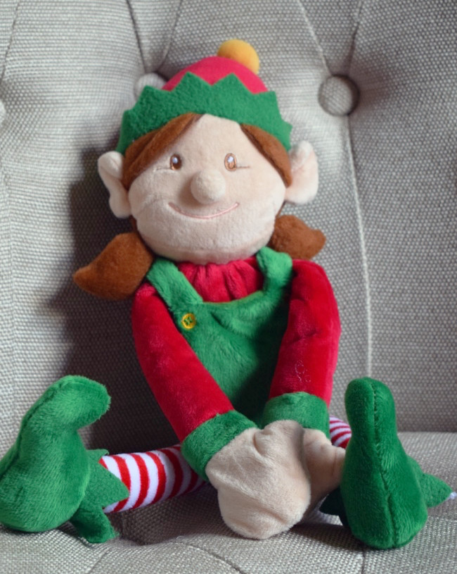 Girl Christmas Elf by Keel Toys